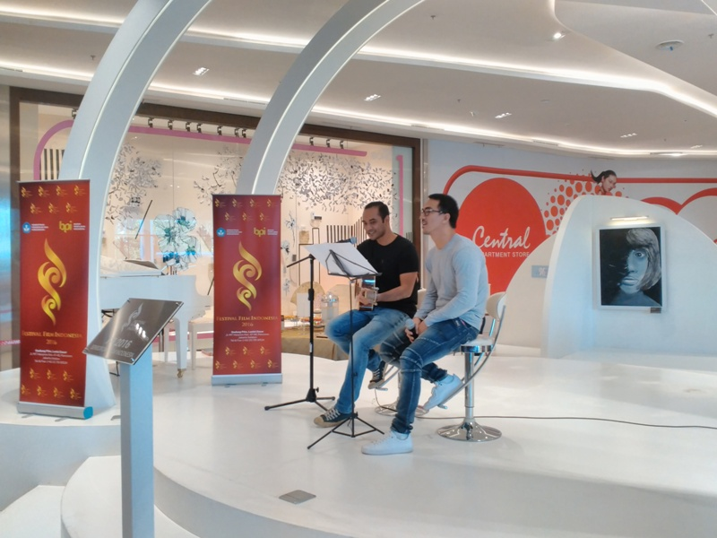 Kenalkan Masyarakat FFI 2016, Ario Bayu dan Joe Taslim Nyanyi Laskar Pelangi