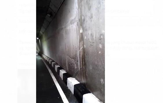 Dinding Terowongan Bandara 3 Soekarno Hatta Bocor dan Retak