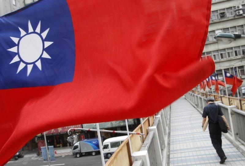 Bendera nasional Taiwan (Foto: Pichi Chuang/Reuters)