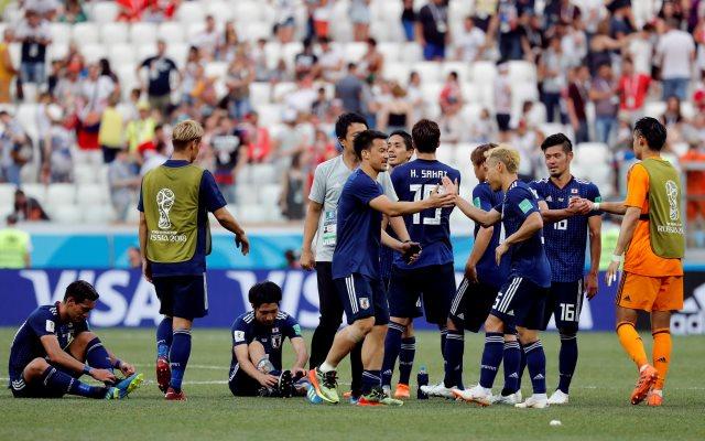 Jepang tetap lolos ke babak 16 besar