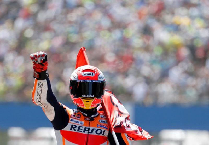8 Tahun Terakhir Marc Marquez Jadi Raja di Sirkuit Sachsenring