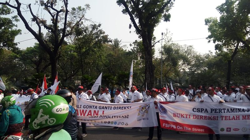Image result for pertamina demo