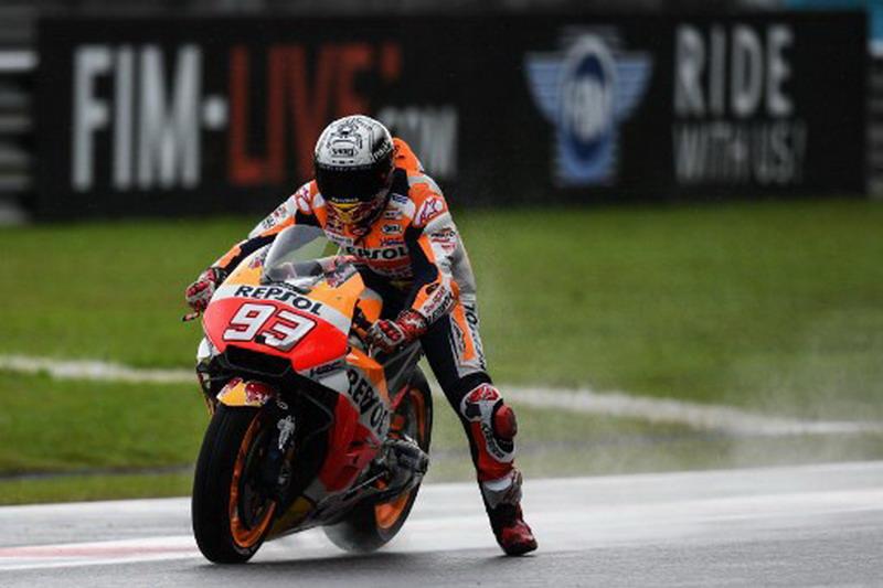 Sirkuit Bergelombang, Marquez Khawatir Mentas di MotoGP Inggris 2018
