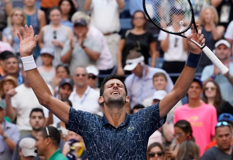 Girangnya Djokovic Melaju ke Perempatfinal AS Terbuka 2018