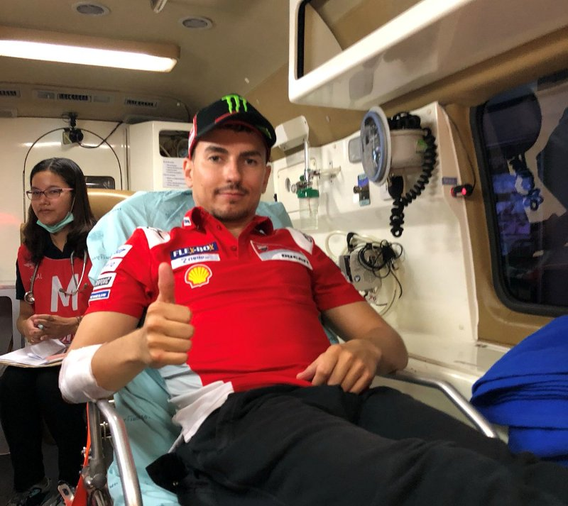 Lorenzo Bandingkan Kondisinya di MotoGP Thailand 2018 dengan Belanda 2013