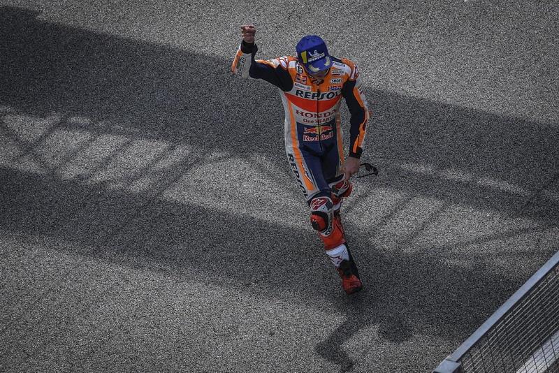 Marquez Anggap Performa di MotoGP Malaysia 2018 Bukan yang Terbaik