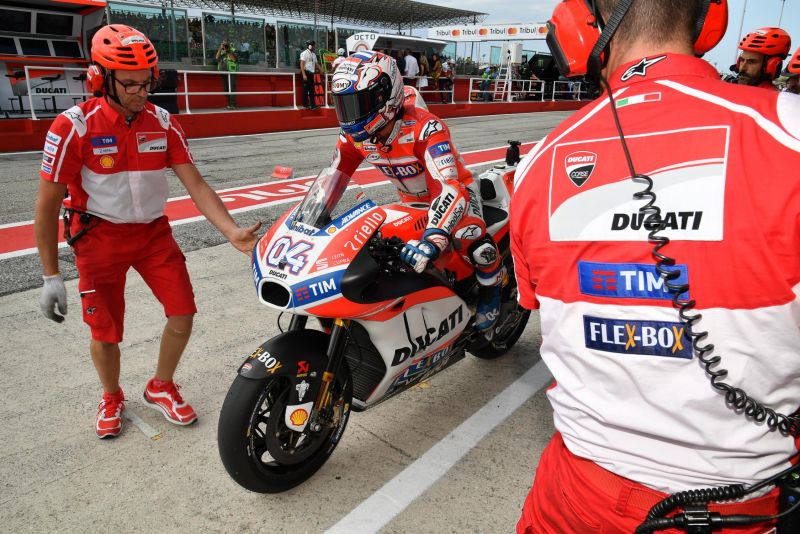 Dovizioso Senang Ducati Alami Kemajuan di Tes Pascamusim Jerez