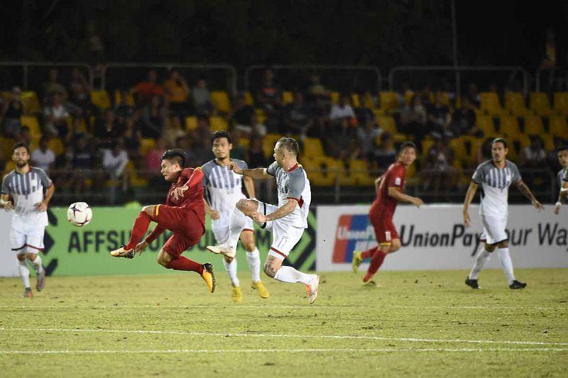 Vietnam vs Filipina Masih 0-0 di Babak Pertama