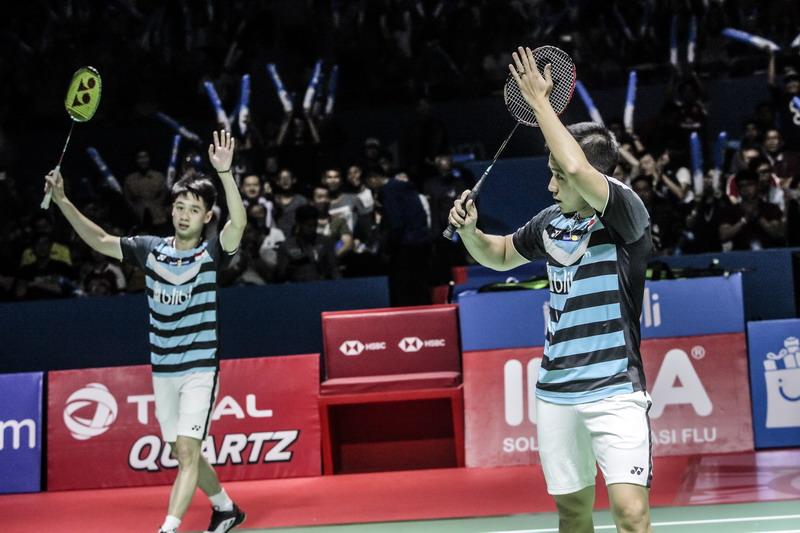 Jelang BWF World Tour Finals 2018, Kevin/Marcus Kembali Jadi Andalan Indonesia