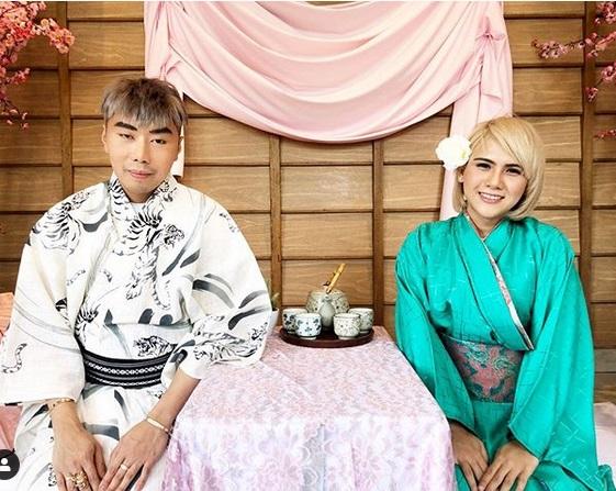 https: img-z.okeinfo.net content 2019 08 12 194 2091038 makin-lengket-evelin-dan-roy-kiyoshi-kompak-pakai-kimono-hQnIm5PvLl.jpg