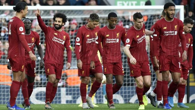 Liverpool Kemungkinan Tanpa Pemain Senior di Partai Replay Kontra Shrewsbury