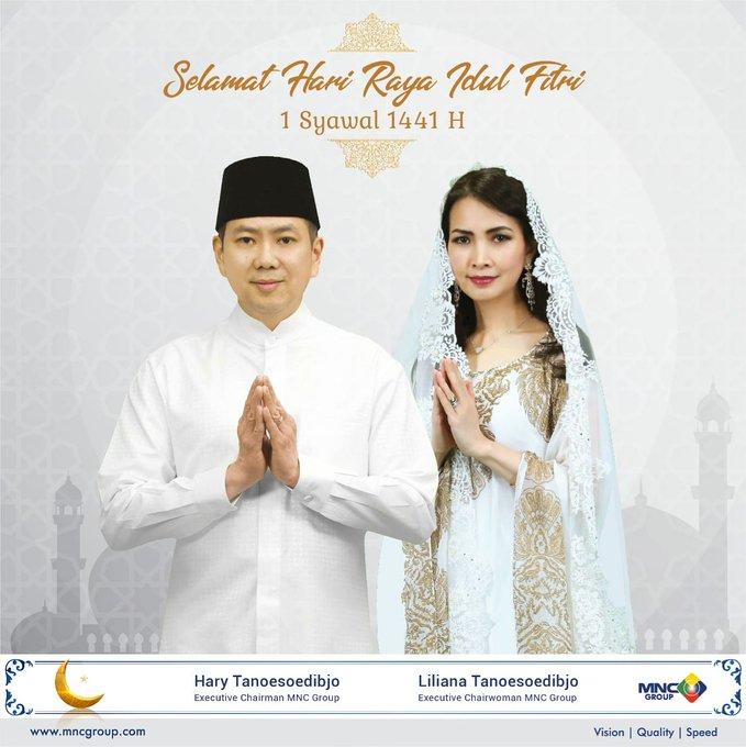 Hary Tanoe: Selamat Idul Fitri 1441 H, Mohon Maaf Lahir