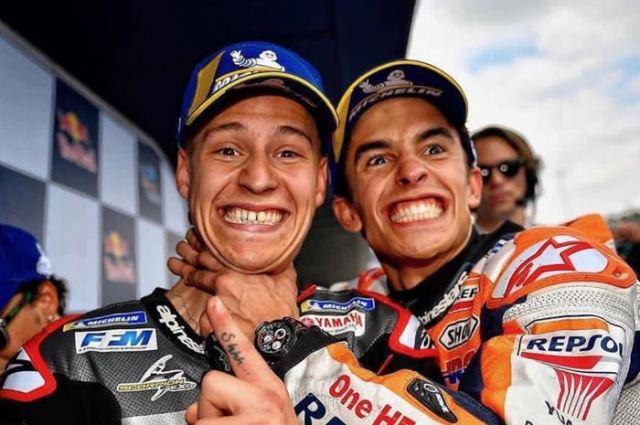 Quartararo Bicara Persaingannya dengan Marquez di MotoGP 2020