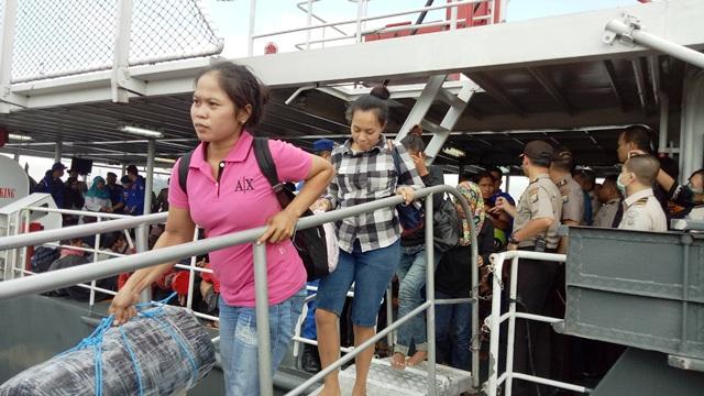 TKI Korban Kecelakaan Kapal di Johor