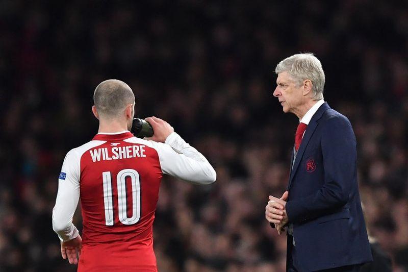 Jack Wilshere dan Arsene Wenger
