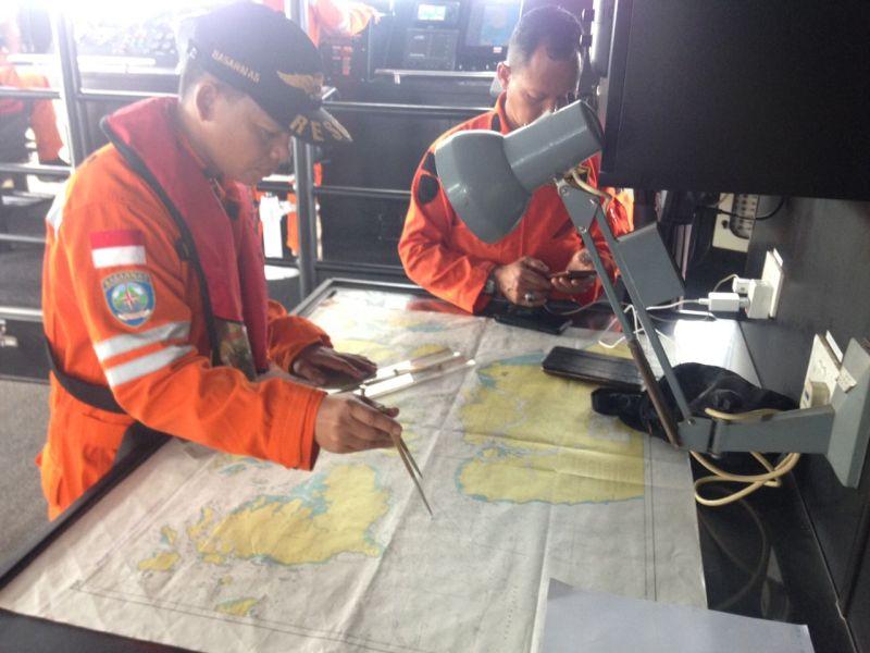 Pencarian Kapal di Perairan Horsburgh
