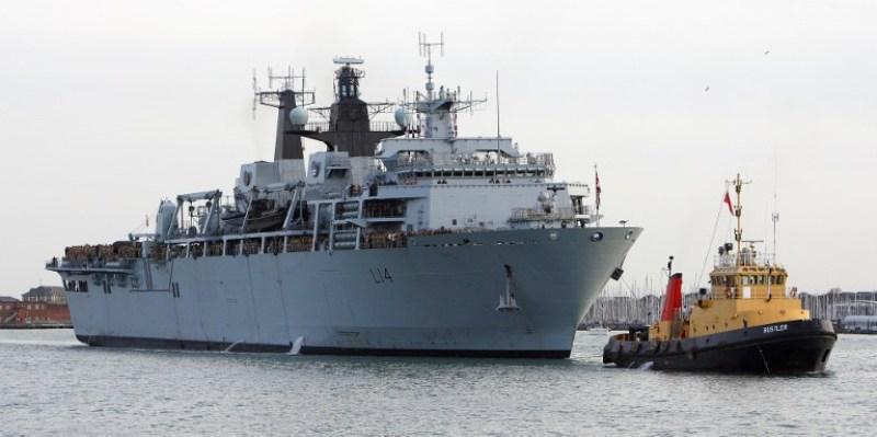 Kapal Perang Inggris HMS Albion