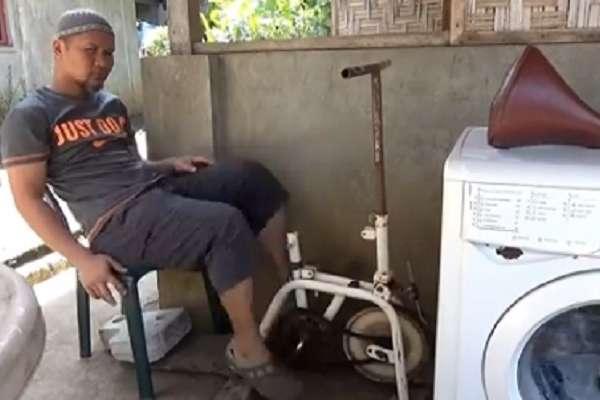 Mesin cuci tak pakai listrik