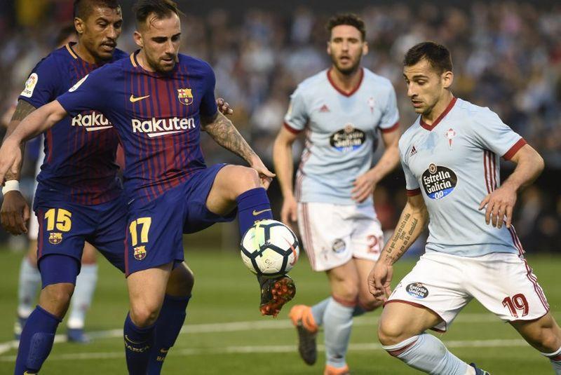 Barcelona Kontra Celta Vigo (Foto: AFP/Miguel Riopa)