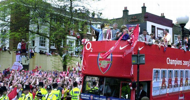 Arsenal juara Liga Inggris 2003-2004