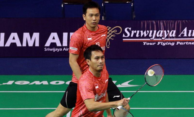 (Hendra Setiawan/Mohammad Ahsan. Foto: Badminton. org)