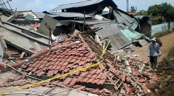 Ilustrasi rumah rusak (Dok Okezone)