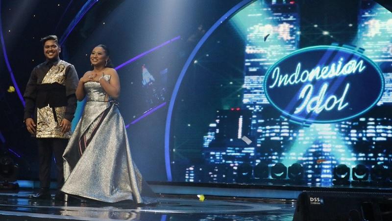 Abdul dan Maria di Grand Final Indonesian Idol