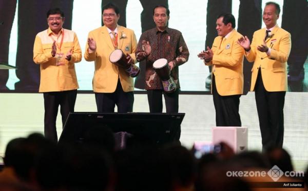 Airlangga dan Jokowi