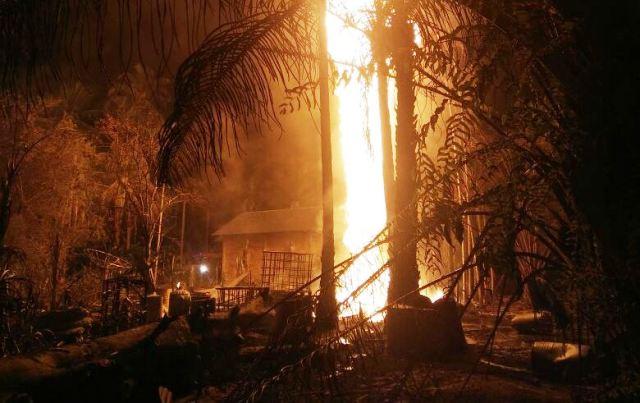 Ledakan di Aceh