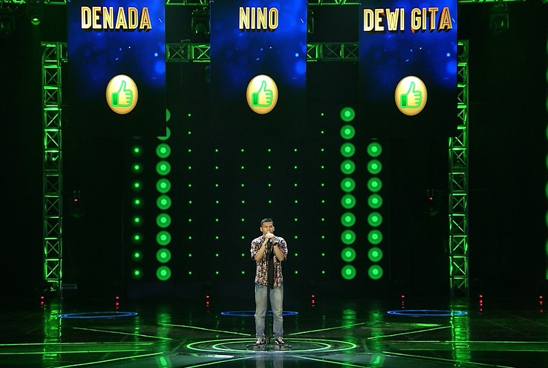Eky di The Next Boy/Girls Band Indonesia Eps 9