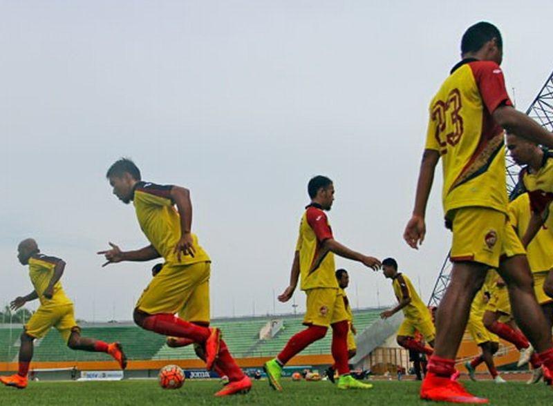 (Para pemain Sriwijaya FC. Foto: Antara)