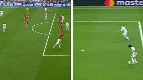 Ronaldo offside