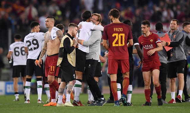 AS Roma vs Liverpool