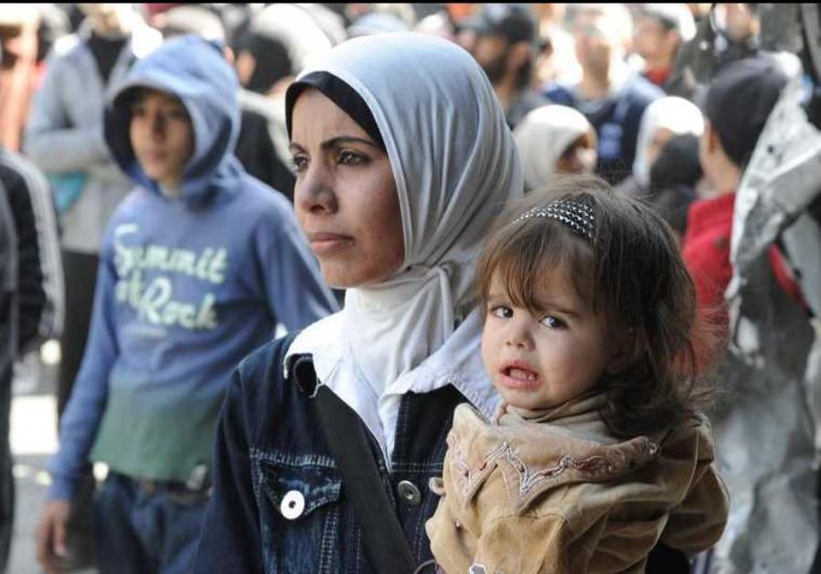 Pengungsi Palestina. (Reuters)