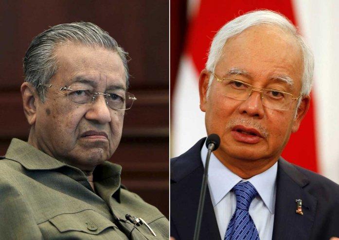 Mahathir dan Rozak Foto: Reuters