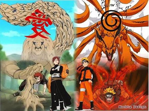 Naruto dan Gaara
