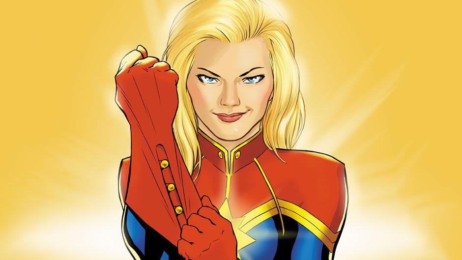 Captain Marvel yang menjadi inspirasi Ms. Marvel