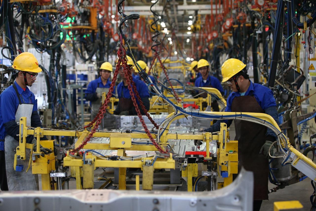 Pabrik Wuling Motors Indonesia. (Foto: Mufrod/Okezone)