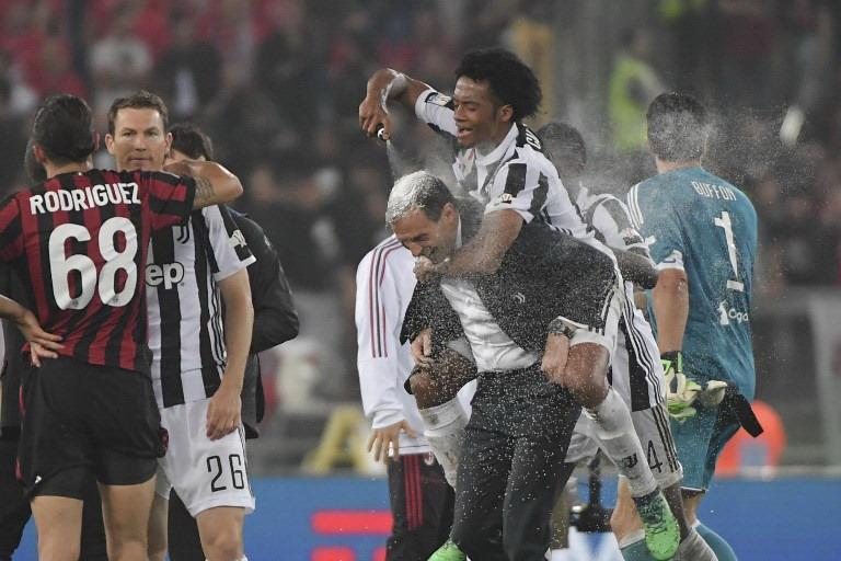 Allegri dan Juventus (Foto: AFP)