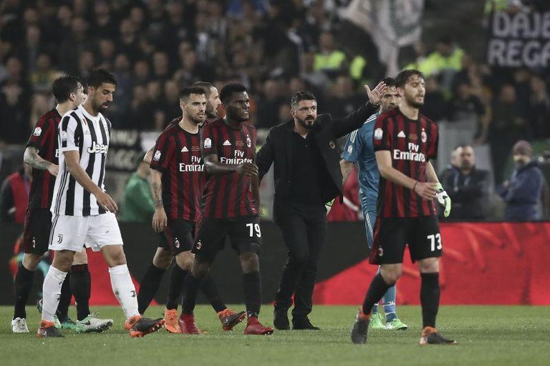 Juventus vs AC Milan(Foto: AFP)