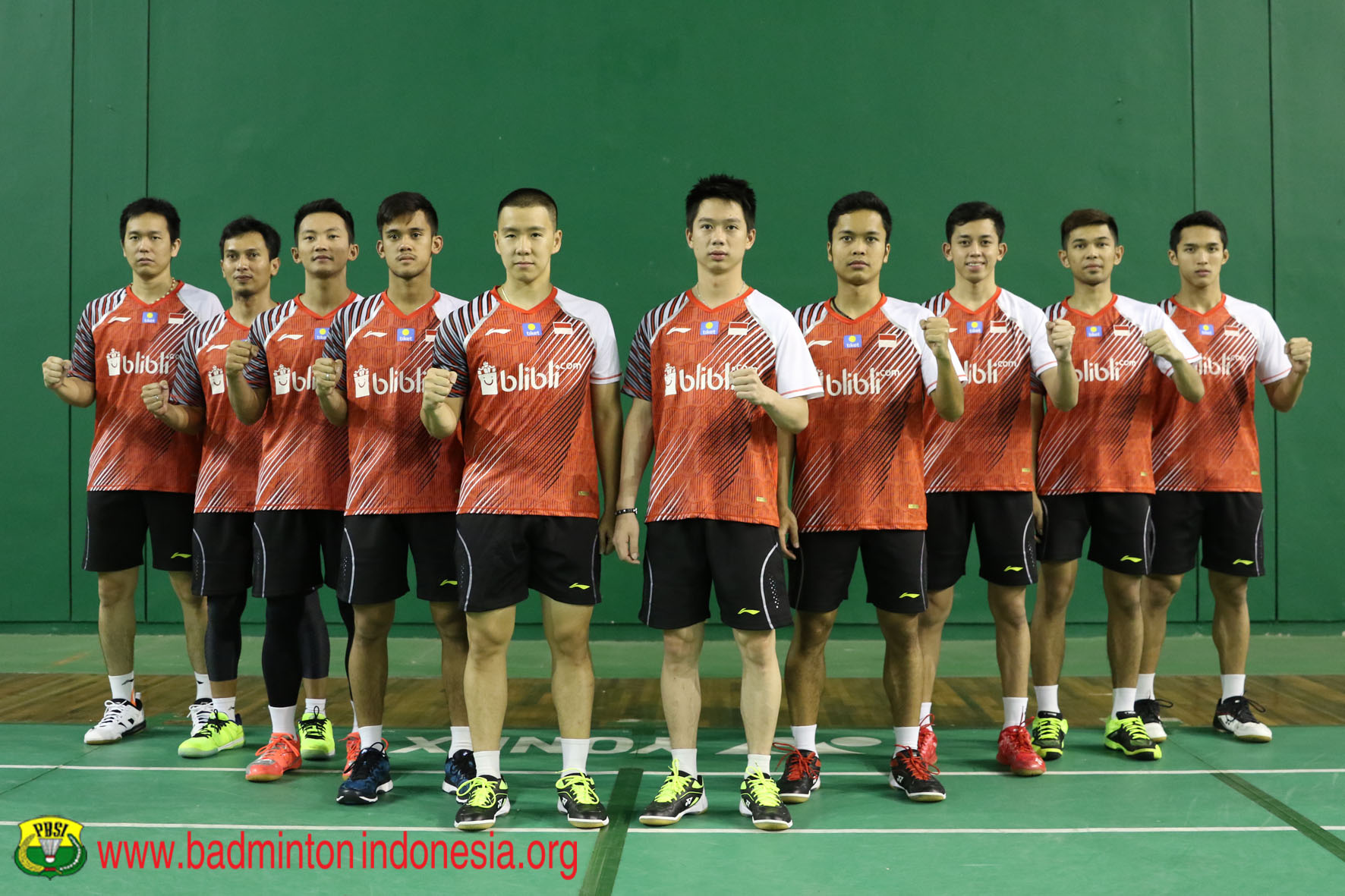 Skuad Piala Thomas Indonesia
