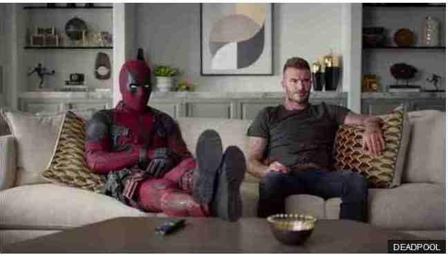 Deadpool dan David Beckham
