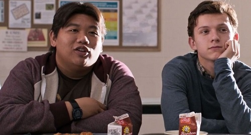 Ned bersama Peter Parker
