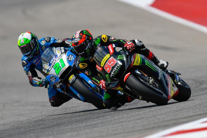 Franco Morbidelli dan Hafizh Syahrin (Foto: MotoGP)