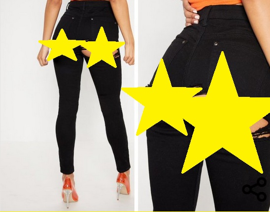 Celana Jeans Unik (Foto: Twitter)