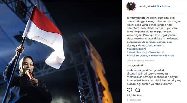 Tantri Kotak Instagram