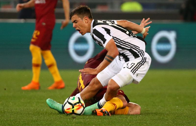 AS Roma vs Juventus (Foto: Reuters)