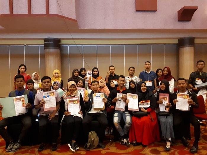 Keramaian audisi KDI 2018 di Medan
