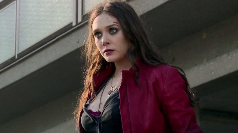 Elizabeth Olsen sebagai Scarlet Witch