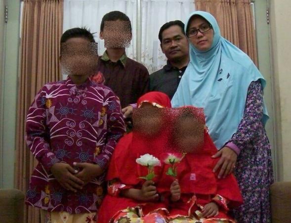 Para pelaku bom gereja di Surabaya. Foto: Ist